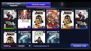 Video Marvel Future Fight GUÍA CROMOS Análisis Cuales son Mejores y Consejos por Reitbus CARD LIST download MP3, 3GP, MP4, WEBM, AVI, FLV Juli 2017