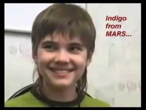 La vie, sur Mars. Un ancien Martien enfant indigo Russe Kipriyanovich Boriska