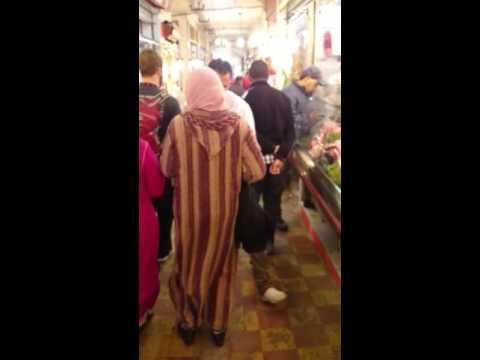 Market in Tangier, Morocco