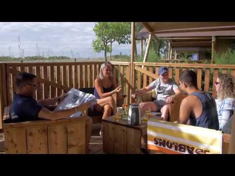 Camping 5* Les Sablons at the Seaside between Vias & Portiragnes