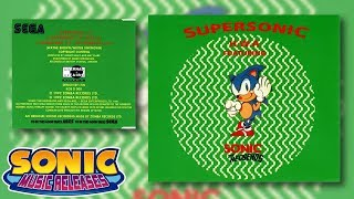 Sonic Music Releases - Supersonic H.W.A. featuring Sonic the Hedgehog