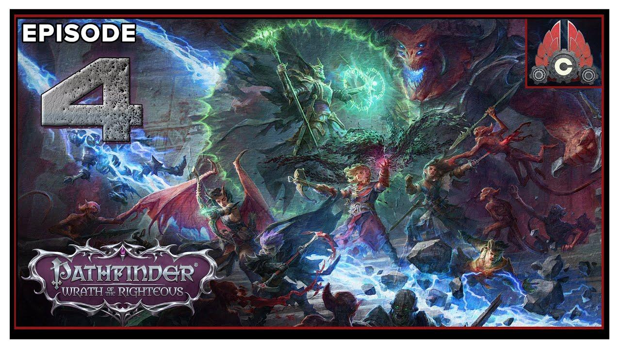 CohhCarnage Plays Pathfinder: Wrath Of The Righteous (Aasimer Deliverer/Hard) - Episode 4
