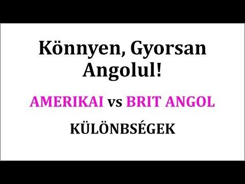Különbségek az amerikai és brit angol között