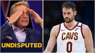 UNDISPUTED - Skip reacts to Kevin Love's stunning inbound turnover in Cavs loss to Raptors
