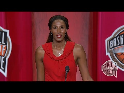 Lisa Leslie's Basketball Hall of Fame Enshrinement Speech - YouTube