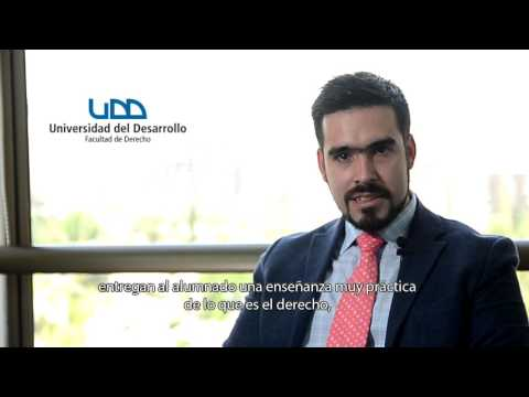 Soy Abogado UDD: Felipe Godoy Aliaga