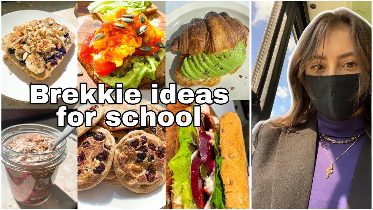 Breakfast ideas4school   7 pomysłów na śniadania do szkoły 🥐