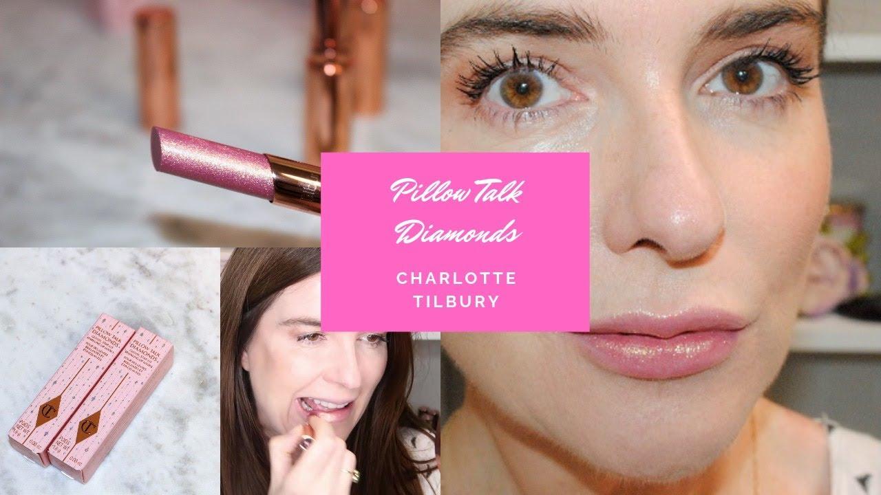 charlotte tilbury pillow talk diamonds review demo