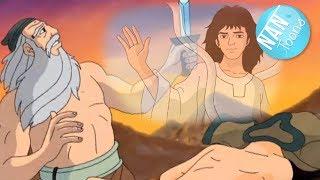 Скачать ABRAHAM Y ISAAC EL SACRIFICIO DE ISAAC Antiguo Testamento Dibujos Animados