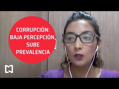 Corrupción: baja percepción, sube prevalencia