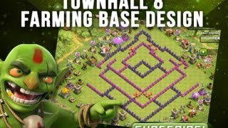 CLASH OF CLANS  - TH8 Farming Base  - The Arrowhead