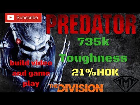 The Division 1.8.3/ 735k Toughness, 21% H.O.K Predators Mark Tank/PVP Build (not A Multi Group)