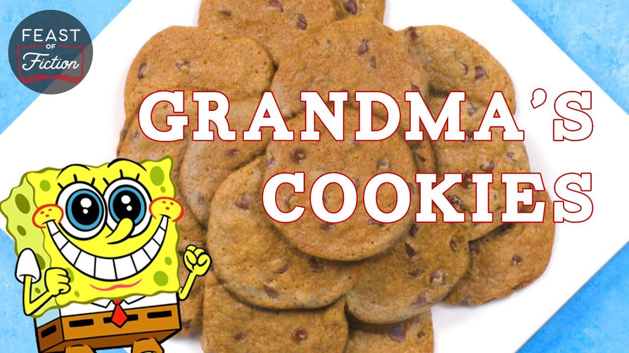 Grandma's Cookies! Spongebob Squarepants Food IRL   Feast of Fiction