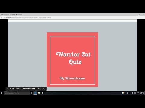 Warrior Cat Quiz!