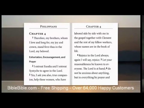 ESV Video Bible, Audio Bible & text, voice only by David Heath
