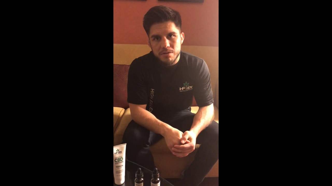 Henry Cejudo Preaches His Love For High Falls Hemp CBD Products!