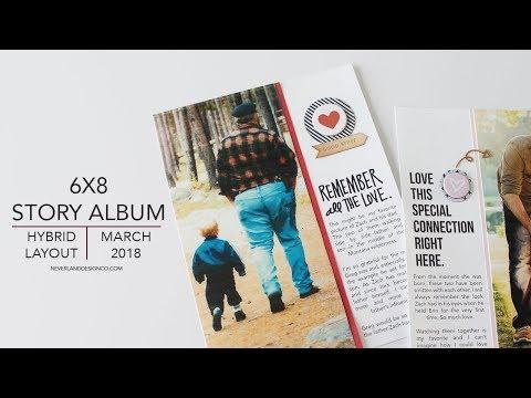 Three Generations | 6x8 Story Album | Ali Edwards Story Kit