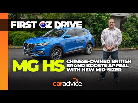 MG HS 2020: Australian First Drive