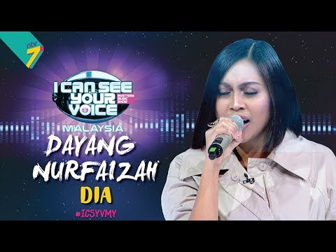 I Can See Your Voice Malaysia : Dayang Nurfaizah – Dia | #ICSYVMY