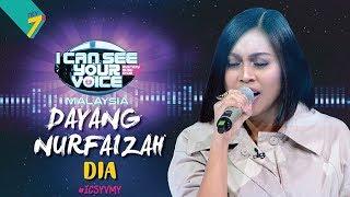 I Can See Your Voice Malaysia : Dayang Nurfaizah – Dia | #ICSYVMY