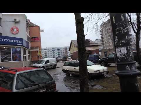 Калининград Октябрьская улица у Рыбной деревни