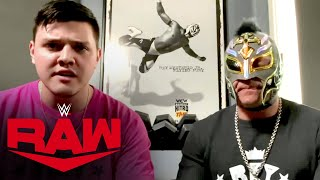 Rey Mysterio & Dominik respond to Seth Rollins: Raw, June 1, 2020