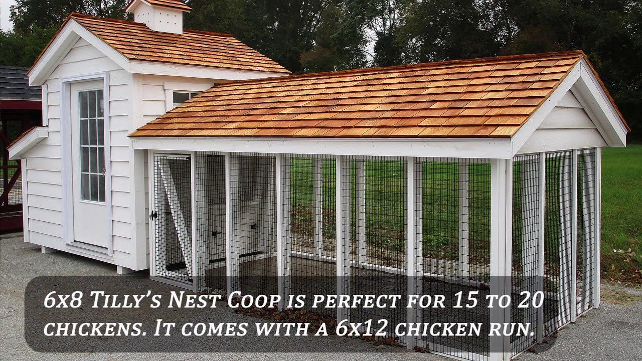 Pre-Built Chicken Coops   Prefab Chicken House   Horizon Structures