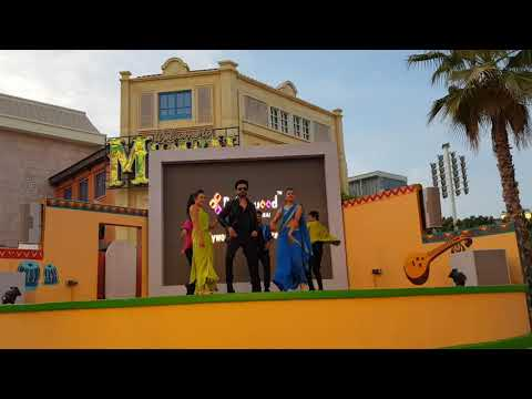 Bollywood parks show / live entertainment/ Dubai parks and resorts / bollywood remix show / part 2