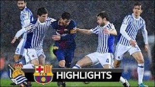 Download Video Real Sociedad vs Barcelona 2 - 4 All Goals & Highlights 14-01-2018 HD MP3 3GP MP4