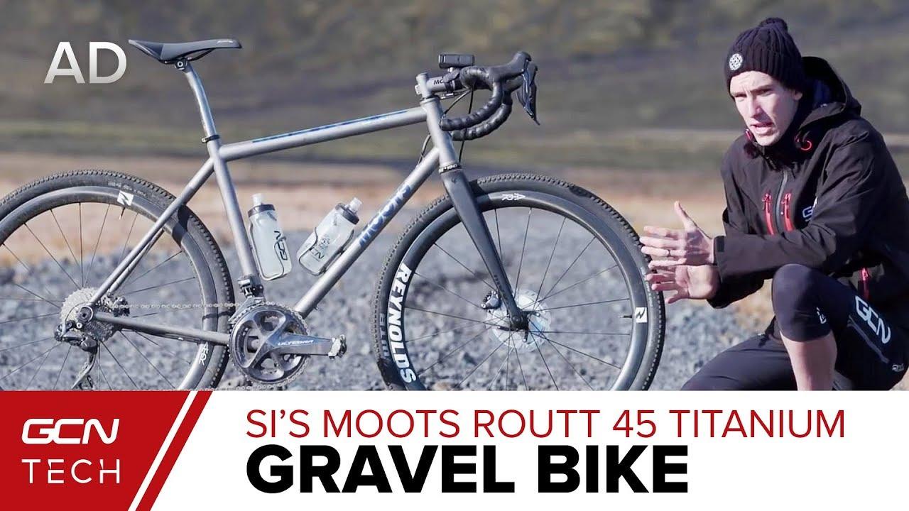 Si's Moots Routt 45 Titanium Gravel Bike | Iceland Bikepacking Setup