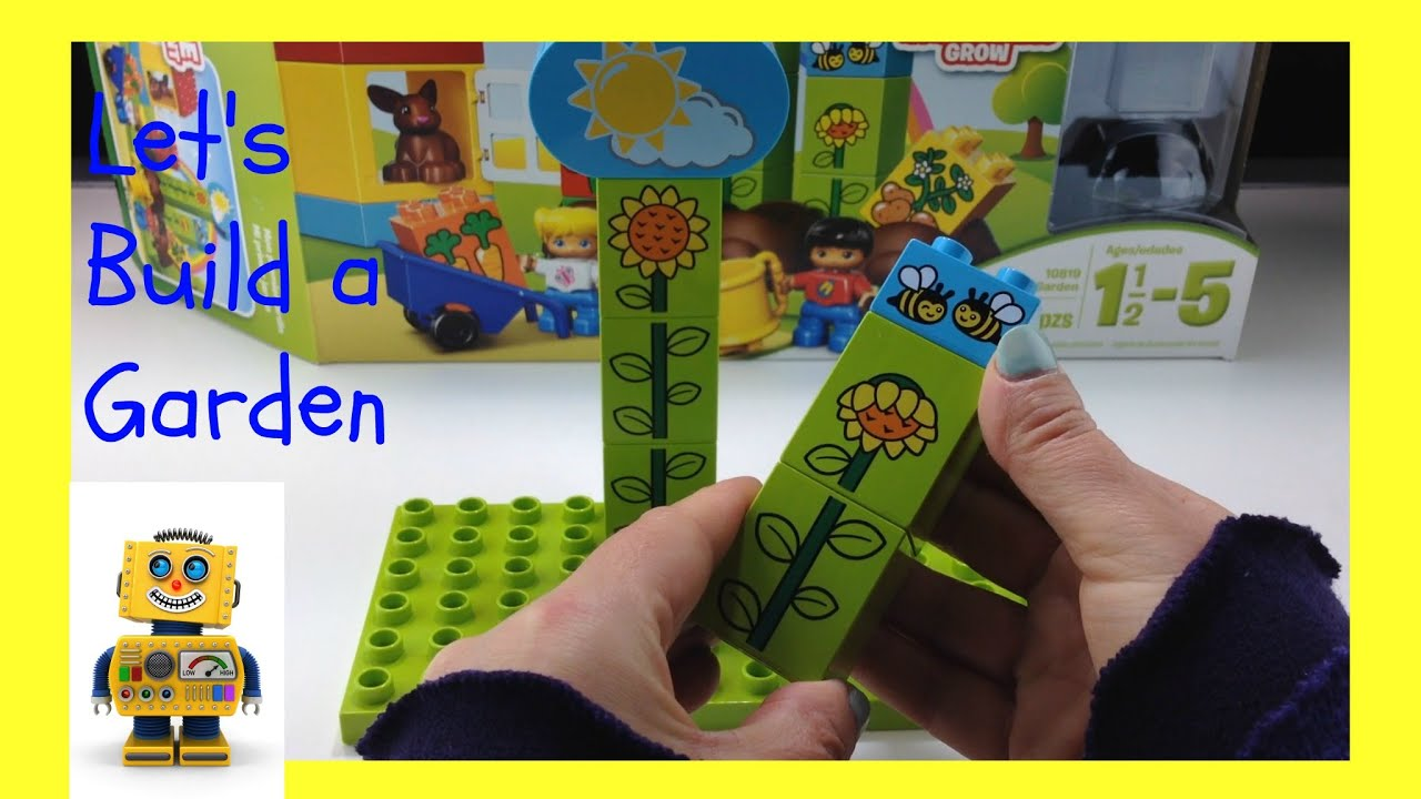 How To Build LEGO Duplo   My First Garden (Item 10819) And Review