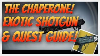 "Destiny The Chaperone ""MEH!"" Exotic Shotgun Review. How to get the Jolly Holiday Quest completed."