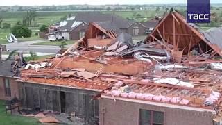 Более 20 человек пострадали из за торнадо в США