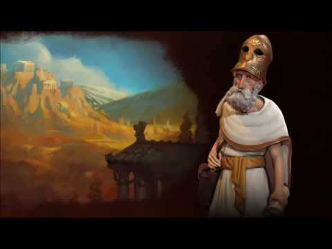 Civ 6 Greek Pericles&Gorgo Theme music FULL