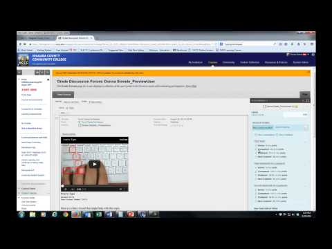 Grading Assignments in Blackboard Learn 9.1