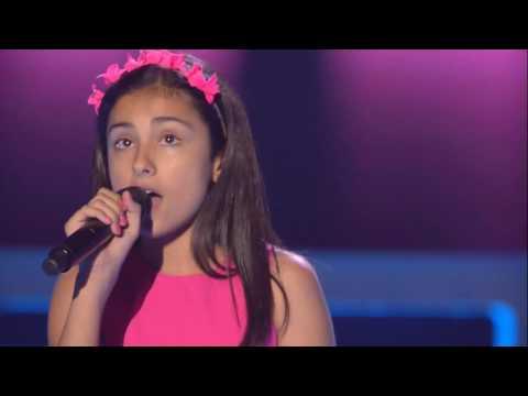 """María Romero: """"Lemon Tree"""" - Audiciones a Ciegas - La Voz Kids 2017"""