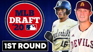 2020 MLB MOCK DRAFT   1st Round Picks