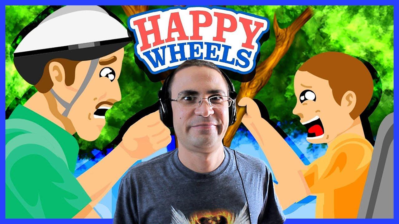μπαμπααααα Happy Wheels 2 Youtube