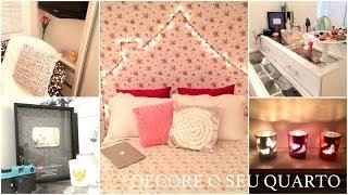 Decore o seu quarto- Dicas simples e Baratas- TOUR antes e depois