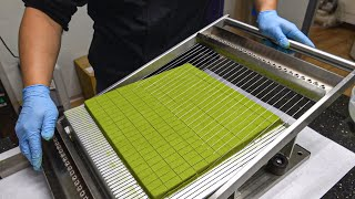 How Green Tea Chocolate Is Made / 抹茶巧克力 - Chocolate Master in Taiwan