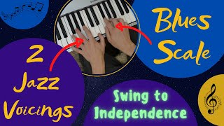 Hand Independence in Jazz   Note by Blues Scale Note - An Excellent Exercise