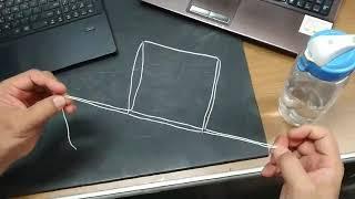 平衡 立方體 線兩端