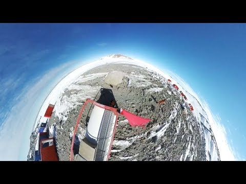 Panoramic video of China's fifth Antarctic research station site