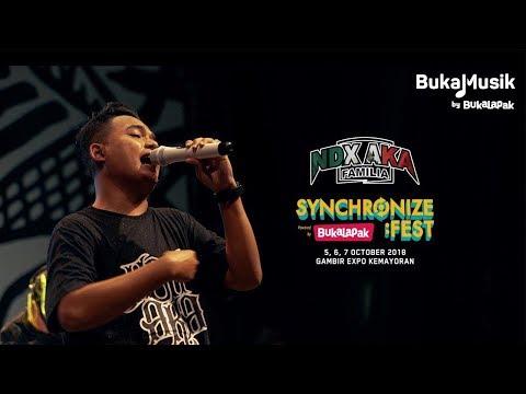 NDX AKA (Live at Synchronize Festival 2018) - Full Performance | BukaMusik