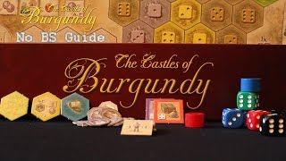 How to Play The Castles of Burgundy - No BS Guide