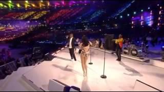 london 2012 olympic closing ceremony tinie tempah jessie j taio cruz