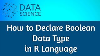 How to Declare Boolean Data Type In R Language