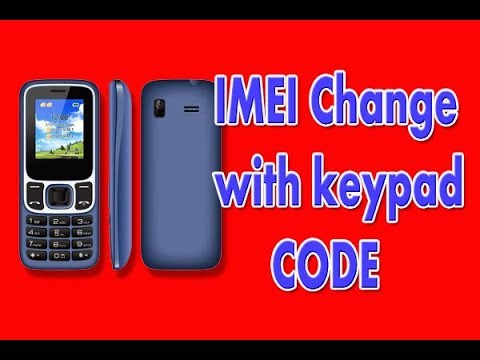 How To Change China Mobile Imei With Keypad | Fix IMEI Issue In China Phones With Changing IMEI CODE