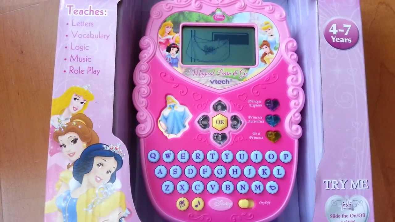 Vtech Disney Princess Magical Learn And Go Youtube