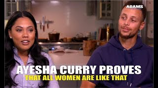 Ayesha Curry Proves Exactly What We've All Been Saying (Male Attention)